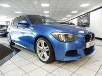 USED 2015 64 BMW 1 SERIES 116D M SPORT  KEYLESS DAB B/T IPOD / USB