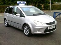 USED 2008 08 FORD C-MAX 1.6 ZETEC 5d 100 BHP CADE CARS LTD. Established for over 25 years.