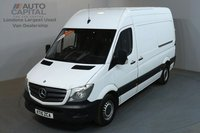 USED 2015 15 MERCEDES-BENZ SPRINTER 2.1 313 CDI 129 BHP MWB HIGH ROOF ONE OWNER FROM NEW, FULL SERVICE HISTORY