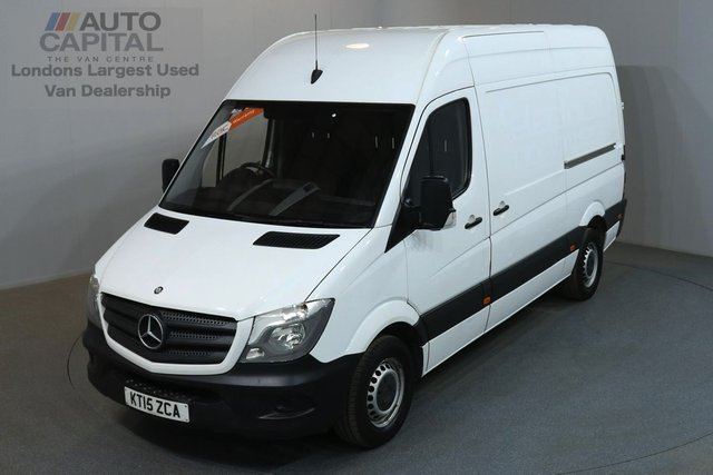 2015 15 MERCEDES-BENZ SPRINTER 2.1 313 CDI 129 BHP MWB HIGH ROOF ONE OWNER FROM NEW, FULL SERVICE HISTORY