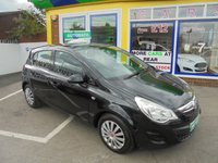 USED 2013 13 VAUXHALL CORSA 1.4 EXCLUSIV AC 5d AUTO 98 BHP ** 01543 379066 ** JUST ARRIVED **
