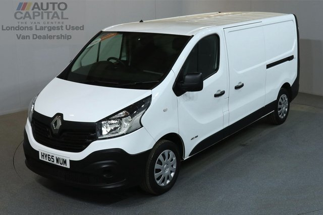 2015 65 RENAULT TRAFIC 1.6 LL29 BUSINESS 115 BHP L2 H1 LWB LOW ROOF ONE OWNER, L2 H1