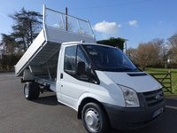 2009 FORD TRANSIT 350 MWB TIPPER 2.4TDCI 100PS £SOLD
