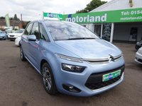 USED 2013 63 CITROEN C4 PICASSO 1.6 E-HDI AIRDREAM EXCLUSIVE ETG6 5d AUTO 113 BHP SAT NAV....REVERSE CAMERA....£20 ROAD TAX....AMAZING ECONOMY.....£0 DEPOSIT FINANCE DEALS AVAILABLE