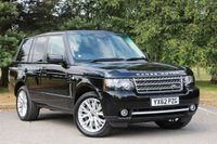 2012 LAND ROVER RANGE ROVER 4.4 TDV8 WESTMINSTER 5d AUTO 313 BHP £21980.00