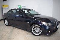 2006 BMW 5 SERIES 2.5 525D M SPORT 4d AUTO 175 BHP £3695.00