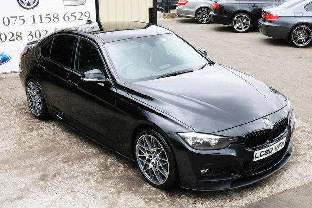 2012 62 BMW 3 SERIES 2.0 318D M SPORT 141 BHP SALOON *PERFORMANCE STYLING* (FINANCE & WARRANTY)
