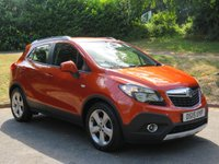 USED 2015 15 VAUXHALL MOKKA 1.7 EXCLUSIV CDTI S/S 5d 128 BHP SOUGHT-AFTER COLOUR / ORANGE ROCK