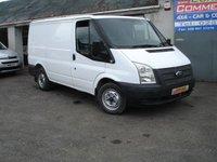2012 FORD TRANSIT 2.2 280 SWB - LR 100 BHP £4950.00