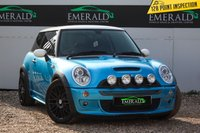 USED 2005 05 MINI HATCH COOPER 1.6 COOPER S 3d 168 BHP £0 DEPOSIT FINANCE AVAILABLE, AIR CONDITIONING, CLIMATE CONTROL, CRUISE CONTROL, FULL MILTEK EXHAUST SYSTEM, MINI BOOST CD PLAYER, STEERING WHEEL CONTROLS