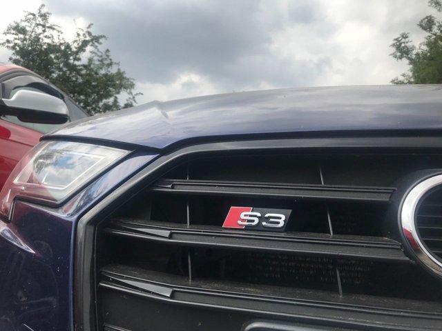 2016 66 AUDI S3 2.0 S3 SPORTBACK TFSI QUATTRO BLACK EDITION 5d AUTO 306 BHP