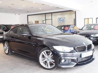 2014 BMW 4 SERIES  420I XDRIVE M SPORT 2d AUTO 181 BHP £17990.00