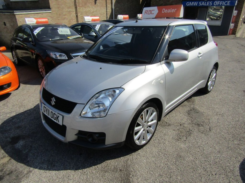 USED 2011 11 SUZUKI SWIFT 1.6 SPORT 3d 125 BHP ...