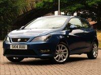USED 2014 14 SEAT IBIZA 1.2 TSI FR 3d 104 BHP