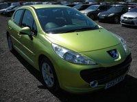 2007 PEUGEOT 207 1.6 SE 5d AUTO 118 BHP £2195.00