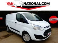 2015 FORD TRANSIT CUSTOM 2.2 330 TREND LR P/V 155 BHP (UPRATED WEIGHT AND 155BHP RARE VAN) £10990.00