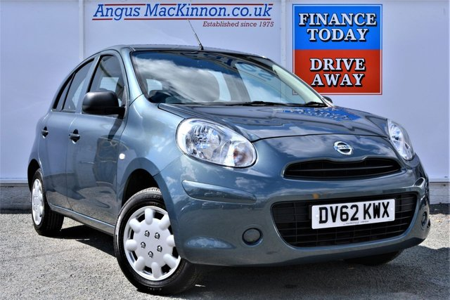 2012 62 NISSAN MICRA 1.2 VISIA 5d Hatchback with Low Running Costs Low Tax High MPG