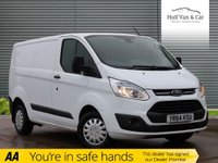 USED 2014 64 FORD TRANSIT CUSTOM 2.2 270 TREND LR P/V 1d 99 BHP ONE OWNER,FSH,BLUETOOTH,CRUISE