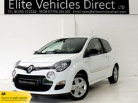 USED 2013 13 RENAULT TWINGO 1.1 DYNAMIQUE 3d 75 BHP GREAT SPEAC, LOW MILEAGE
