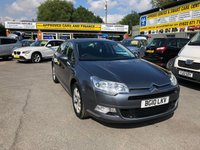 USED 2010 10 CITROEN C5 2.0 VTR PLUS HDI NAV 4 DOOR 160 BHP IN SILVER WITH 106000 MILES APPROVED CARS ARE PLEASED TO OFFER THIS  CITROEN C5 2.0 VTR PLUS HDI NAV 4 DOOR 160 BHP IN SILVER WITH 106000 MILES IN GREAT CONDITION INSIDE AND OUT WITH SAT NAV,ALLOYS AND MUCH MORE WITH A FULLY STAMPED SERVICE BOOK A GREAT CAR ,VERY ECONOMICAL AND CHEAP.