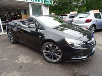 USED 2016 66 VAUXHALL CASCADA 1.6 ELITE 2d AUTOMATIC CONVERTIBLE 170 BHP Full Service History (Vauxhall + ourselves), One Previous Owner, Automatic, Convertible, MOT until November 2019, Balance of Vauxhall Warranty until November 2019