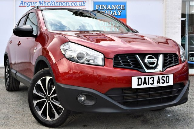 2013 13 NISSAN QASHQAI 1.5 DCI 360 5d Family SUV with Full Service History and 360 Camera System
