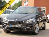 2015 BMW 2 SERIES 1.5 216D LUXURY ACTIVE TOURER 5d 114 BHP £11490.00