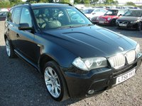 2006 BMW X3 3.0 SD M SPORT 5d AUTO 282 BHP £SOLD