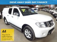 "USED 2014 63 NISSAN NAVARA 2.5 DCI TEKNA 4X4 SHR DCB  AUTO 188 BHP-ONE OWNER-SERVICE HISTORY ""YOU'RE IN SAFE HANDS"" - AA DEALER PROMISE"