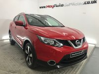 USED 2015 15 NISSAN QASHQAI 1.5 DCI N-TEC PLUS 5d 108 BHP *** PANORAMIC ROOF ***