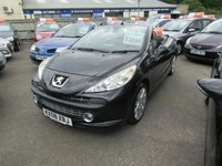 USED 2008 08 PEUGEOT 207 1.6 GT COUPE CABRIOLET 2d 118 BHP