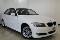 USED 2011 61 BMW 3 SERIES 2.0 320D ES 4DR 181 BHP SERVICE HISTORY + LEATHER SEATS + PARKING SENSOR + MULTI FUNCTION WHEEL + AIR CONDITIONING + RADIO/CD + ELECTRIC WINDOWS + 16 INCH ALLOY WHEELS