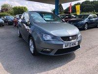 2013 SEAT IBIZA 1.4 TOCA 3d 85 BHP £6499.00
