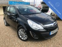 USED 2013 13 VAUXHALL CORSA 1.4 SE petrol 5 door Low Mileage 5 door petrol with heated half leather