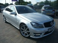 2012 MERCEDES-BENZ C CLASS 2.1 C250 CDI BLUEEFFICIENCY SPORT 4d AUTO 202 BHP £11599.00