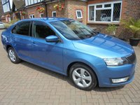 2013 SKODA RAPID 1.6 SE TDI CR 5d 104 BHP, £30.00 A YEAR ROAD TAX £4750.00