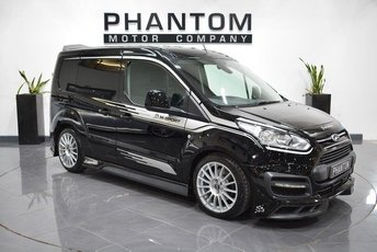 2017 FORD TRANSIT CONNECT 1.5 200 LIMITED P/V 1d 118 BHP £19990.00