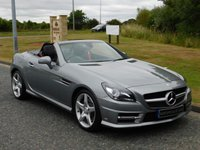 2014 MERCEDES-BENZ SLK 2.1 SLK250 CDI BLUEEFFICIENCY AMG SPORT 2d AUTO 204 BHP £16990.00