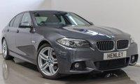2015 BMW 5 SERIES 2.0 520D M SPORT 4d AUTO 188 BHP £17990.00