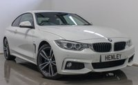 2015 BMW 4 SERIES 2.0 420D M SPORT 2d AUTO 188 BHP £17990.00