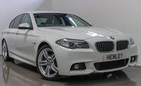 2014 BMW 5 SERIES 2.0 520D M SPORT 4d AUTO 181 BHP £16990.00