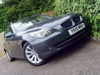 2010 BMW 5 SERIES 2.0 520D SE BUSINESS EDITION TOURING 5d 175 BHP £6499.00