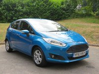 USED 2013 63 FORD FIESTA 1.6 TITANIUM ECONETIC TDCI 5d 94 BHP 7 Services Since 2013! 5 Main Dealer!