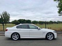 2014 BMW 5 SERIES 2.0 520D M SPORT 4d AUTO 181 BHP £13995.00