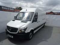 2017 MERCEDES-BENZ SPRINTER 2.1 314CDI 1d 140 BHP £19995.00