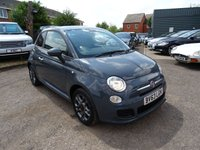USED 2014 63 FIAT 500 1.2 S 3d 69 BHP ONE OWNER FROM NEW, CURRENT MOT, FIAT SERVICE STAMP @ 9,266 MILES. IT COMES WITH A MANUAL PACK & 2 KEYS (not tested or guaranteed)