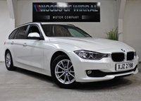2015 BMW 3 SERIES 2.0 320D EFFICIENTDYNAMICS BUSINESS TOURING 5d AUTO 161 BHP £12480.00
