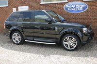 USED 2010 59 LAND ROVER RANGE ROVER SPORT 3.0 TDV6 HSE 5d AUTO 245 BHP