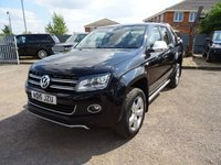 USED 2015 15 VOLKSWAGEN AMAROK 2.0 DC TDI ULTIMATE 4MOTION 1d 178 BHP ONE OWNER FROM NEW 2 VW DEALERSHIP SERVICE STAMPS @ 19,802 / 44,380 MILES. THIS IS A VAT REGISTERED VEHICLE. COMES WITH A MANUAL PACK X2 KEYS (not tested or guaranteed)