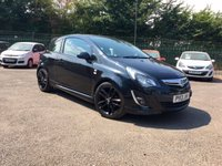 2013 VAUXHALL CORSA 1.2 LIMITED EDITION 3d  WITH SERVICE HISTORY AND PARKING SENSORS  £5000.00